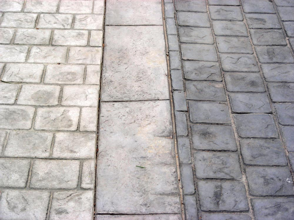 Stamped Concrete Panels : Stamp con products gt stamped concrete pattern brick
