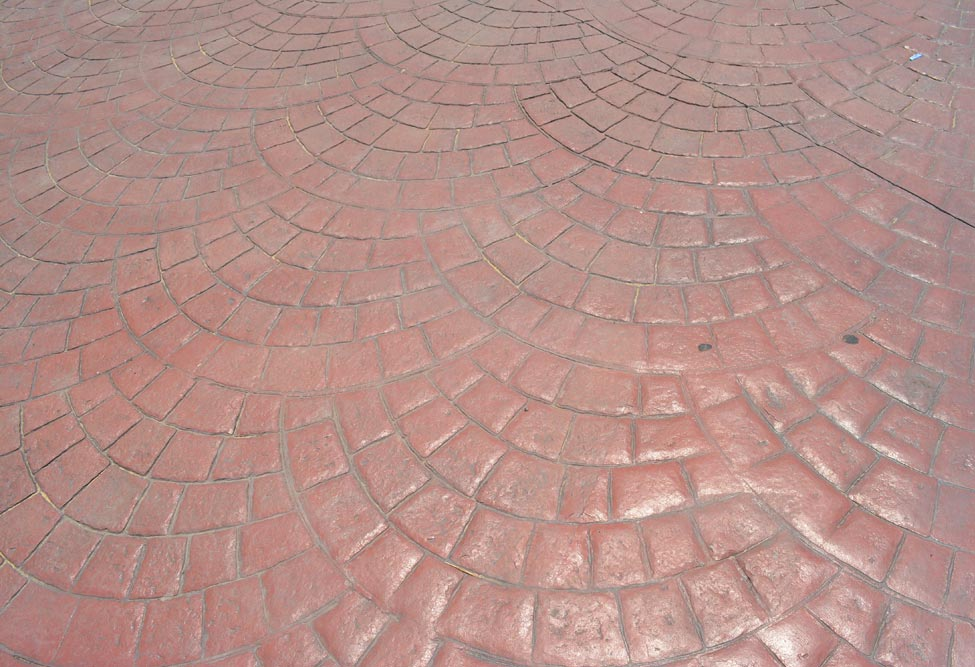 Stamp Con Products Gt Stamped Concrete Gt Pattern Gt Fish Scale